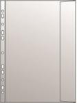 Lefűzhető genotherm A4 oldalfüles, boríték alakú,  90micron, klapnis