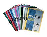 Clip mappa Durable Duraclip Original A4 1-30 lap sárga