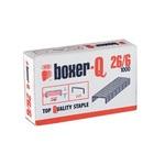 Tűzőkapocs Ico Boxer-Q 26/6 1000db/doboz