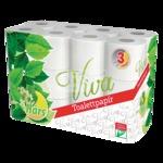 Toalettpapír Viva 3 rétegű, 24 tekercses