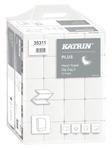 Katrin Plus Handy Pack, hajtogatott kéztörlő (Zig Zag, V-hajtott), 2 rétegű, hófehér, 100% cellulóz, 23x22,4 cm, 200 lap, 35311