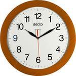 Fali óra 30cm SECCO, fahatású keret