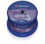 Verbatim DVD+R 16x, 50db/henger (AZO)