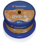 Verbatim DVD-R 16x, 50db/henger (AZO)