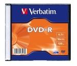 Verbatim DVD-R 16x, vékony tokban (AZO)