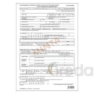 Halottvizsgálati bizonyítvány 6 lapos garnitúra C.3110-49/V
