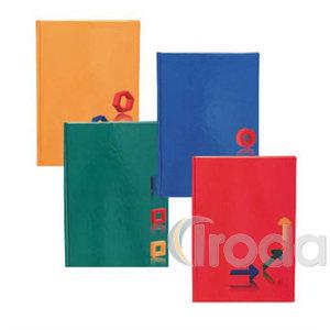 Beíró A5 96lapos vonalas egyszínű lakkozott kemény karton borítóval