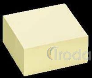 Öntapadó jegyzettömb 75x75 320lapos sárga