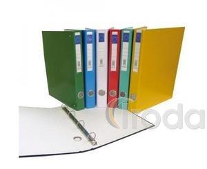 Gyűrűskönyv A4 4gy 45mm fekete