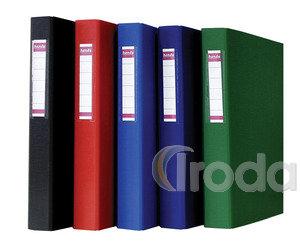 Gyűrűskönyv 2GY kék 40/45mm, kívül/belül PP