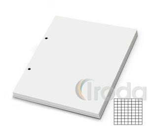 Gyűrűskönyvbetét A5 KOCKÁS 50lapos, 2 lyukas