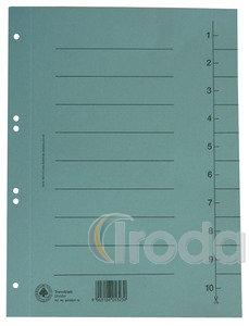 Elválasztó kartonlapok 23,5x29,7cm KÉK 100db/csomag