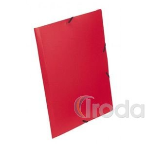 StarOffice Gumis mappa A/4, 15 mm-es gerinc színes piros
