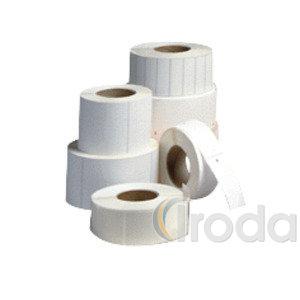 Thermo címke 40x25mm FEHÉR 2000 címke/tekercs