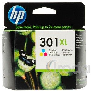 Tintapatron CH564EE No. 301 XL színes HP