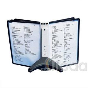 Bemutató tábla tartó asztali állvány FEKETE DURABLE SHERPA