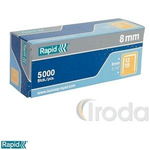 Tűzőkapocs Rapid 13/6 horganyzott 5000db/doboz 11830700