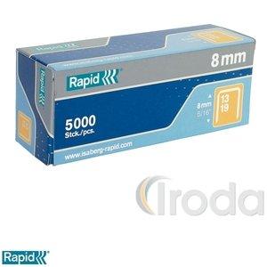 Tűzőkapocs Rapid 13/10 horganyzott 5000db/doboz 11840600