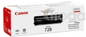 Toner Canon CRG-728 fekete 2,1K MF4410/4430/4450 nyomtatókhoz