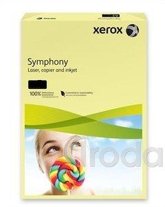 Xerox Symphony színes fénymásolópapír A/4 80g pasztell sárga 500 ív/csomag