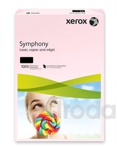 Xerox Symphony színes fénymásolópapír A/3 80g pasztell rózsa 500 ív/csomag