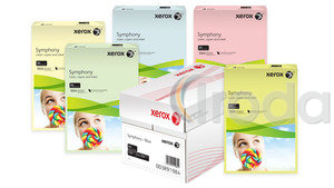 Xerox Symphony színes fénymásolópapír A/4 80g közép fukszia 500 ív/csomag