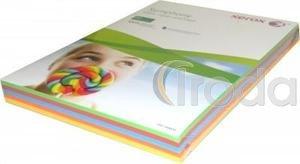 Fénymásolópapír papír Xerox Symphony A/4 80gr. pasztell mix 5y50lap/csomag