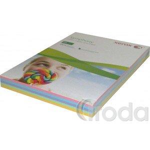 Fénymásolópapír papír Xerox Symphony A/4 80gr. közép mix 5x50 ív/csomag