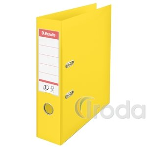 Iratrendező Esselte Standard 7,5cm VIVDA sárga 624070