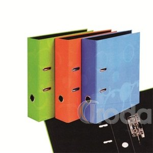 P+P Neo Colori iratrendező,A4,kék,70mm