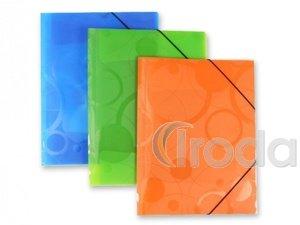 P+P Neo Colori gumis mappa,A4,zöld