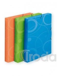 P+P Neo Colori gumis mappa 30mm-es gerinc,A4,kék