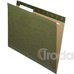 Függőmappa karton A4 'V' natúr
