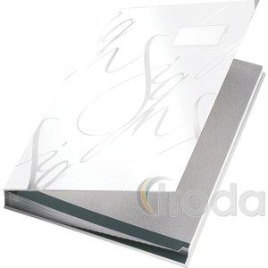 Aláírókönyv Leitz A4 18 részes fehér 57450001