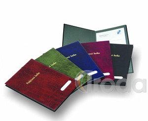 Aláírókönyv P+P XEPTER, 16lapos, kék
