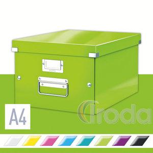 Leitz CLICK&STORE A4 méretű doboz, zöld (60440064 helyettesítője) 60440054