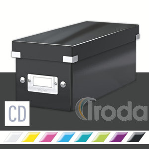 CD tartó doboz Leitz Click&Store, fekete 60410095
