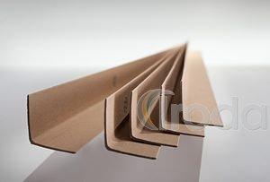 Élvédő préselt papírból 45x45x3x300mm, merevítéshez