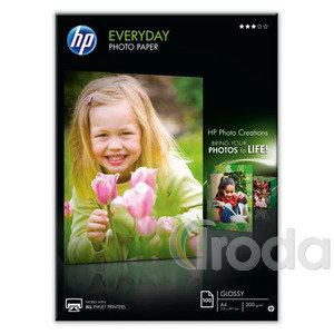 Fotópapír HP Selyemfényű, tintasugaras A4/170gr. 100ív/csom Q2510A