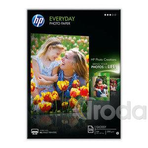 Fotópapír HP fényes, tintasugaras A4/ 200gr. 25ív/csom Q5451A