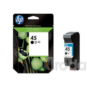 HP tintapatron 51645AE No.45 42ml FEKETE