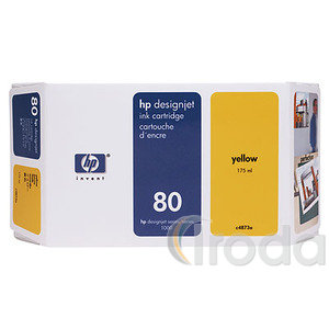 HP tintapatron C4848A 350ml YELLOW