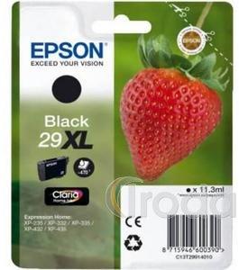 Tintapatron Epson T2991 (No.29XL) eredeti, fekete