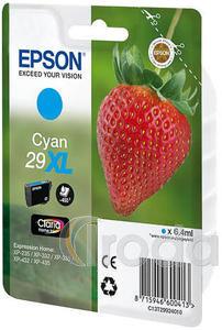 Tintapatron Epson T2992 (No.29XL) eredeti, cián