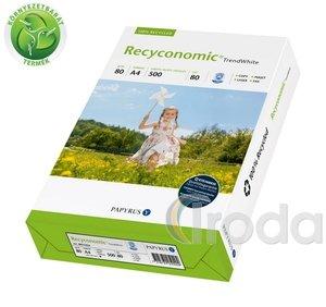 Fénymásolópapír környezetbarát Recyconomic Trend White A/4 80gr. 500 ív/csomag