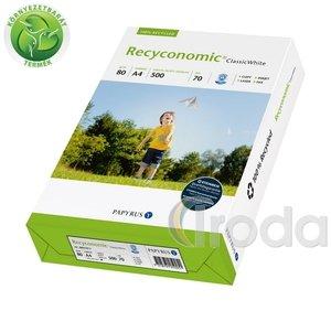 Fénymásolópapír környezetbarát Recyconomic Classic White A/3 80gr. 500 ív/csomag
