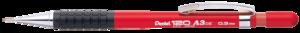 Pentel Nyomósiron 120 A3 0,3mm piros A313-B