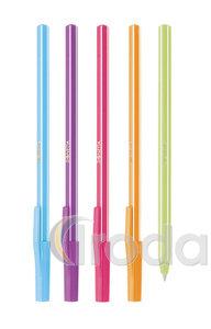 Golyóstoll Ico Signetta Mix 5 különböző színű test, kék írásszín