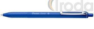 Pentel iZee nyomógombos golyóstoll 0.35mm kék BX467-C