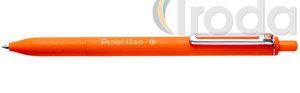 Pentel iZee nyomógombos golyóstoll 0.35mm narancssárga BX467-F